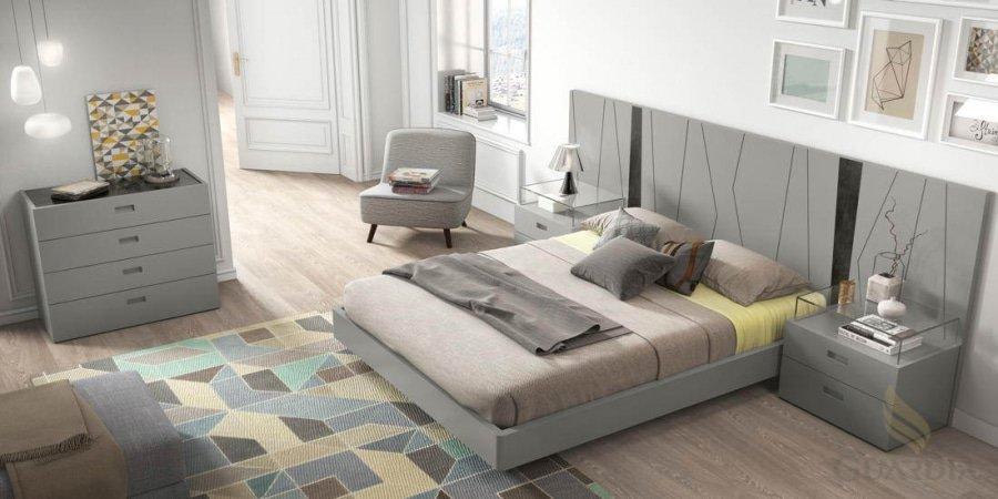 Diseño moderno en gris