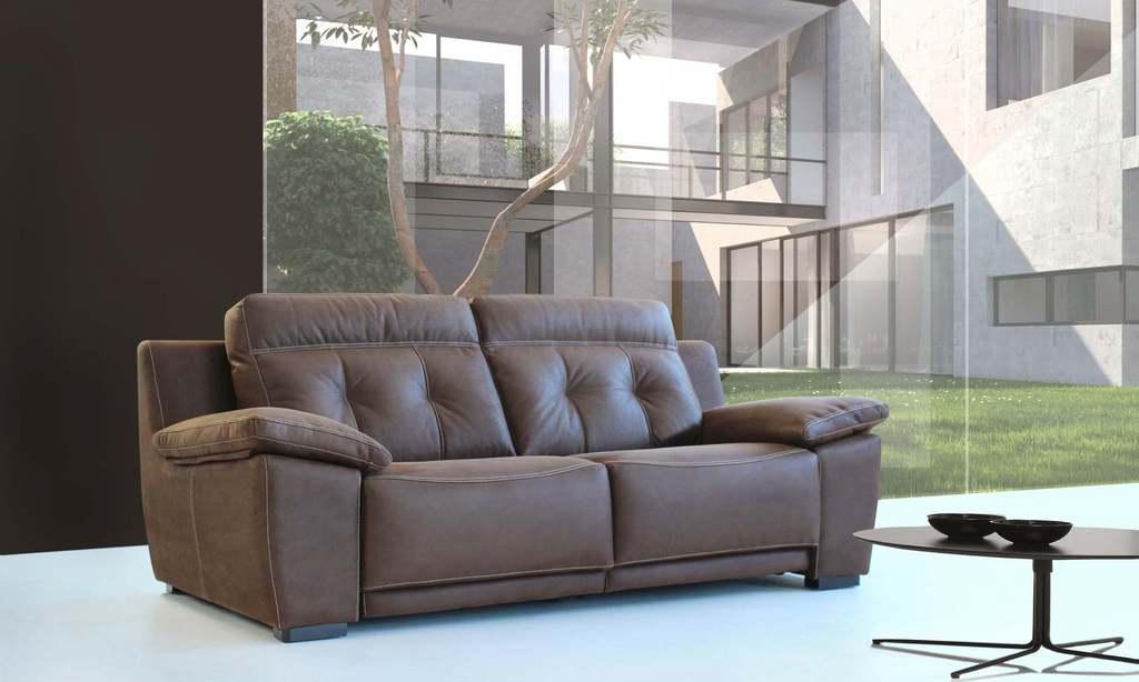 Sofá clásico 2 plazas con relax