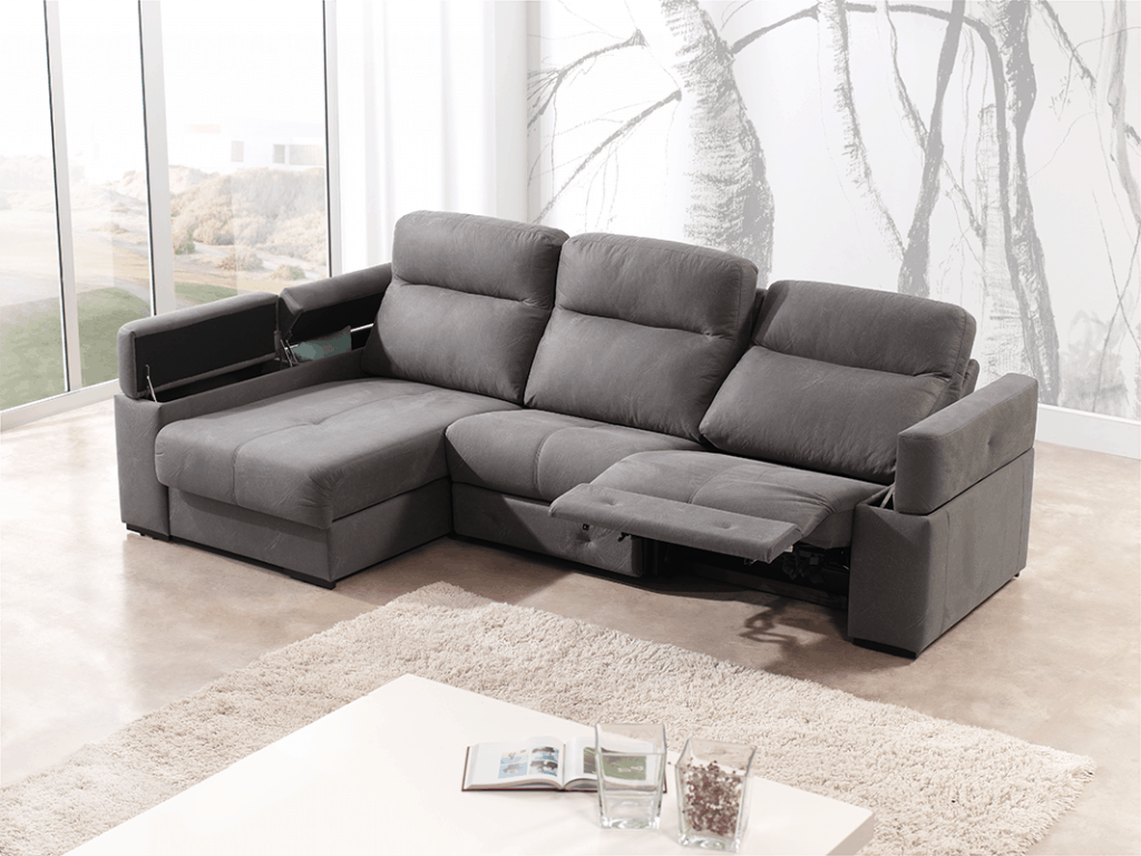 Chaiselongue con Relax