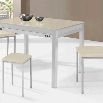 Mesa de cocina fija beige