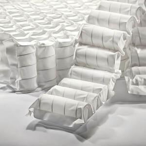 Núcleo de muelles ensacados de un colchón